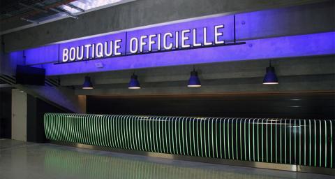 Comptoir boutique produits dérivés - U Arena